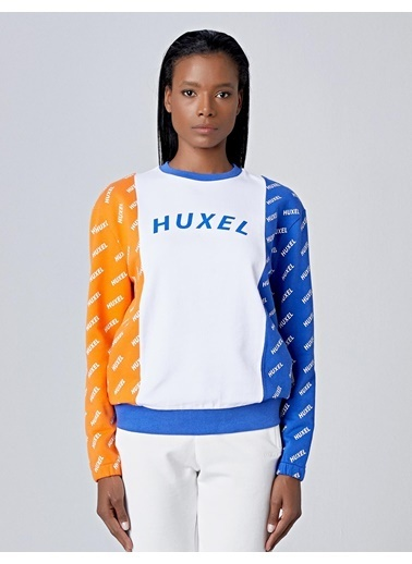 Huxel Sweatshirt Beyaz